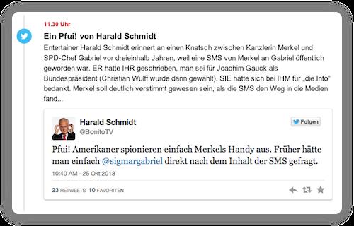Harald schmidt merkelphone