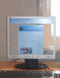 transparenter LCD