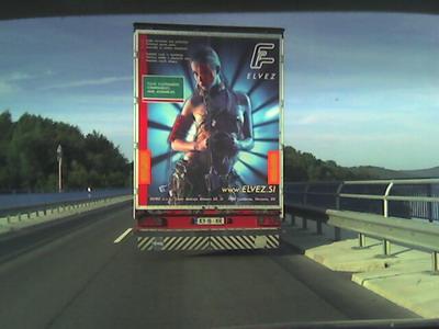 LKW mit Verkehrsgefährdung